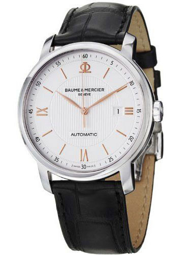 Baume & Mercier Watches - Classima Stainless Steel Automatic - Style No: M0A10075