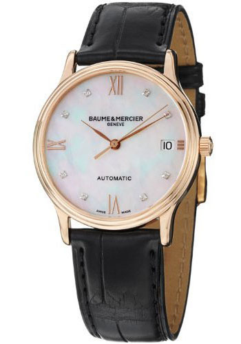 Baume & Mercier Watches - Classima Red Gold Automatic - Style No: M0A10077