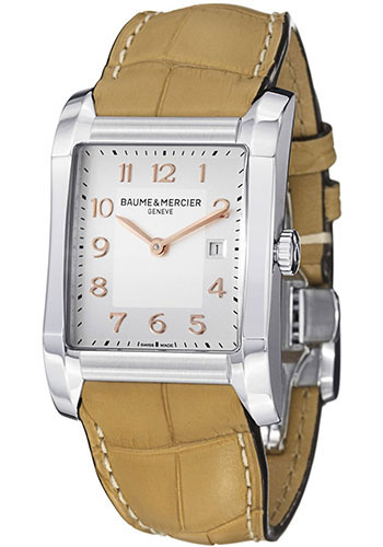 Baume & Mercier Watches - Hampton Stainless Steel Quartz - Style No: M0A10081