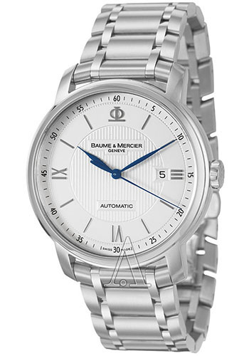 Baume & Mercier Watches - Classima Stainless Steel Automatic - Style No: M0A10085