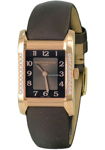 Baume & Mercier Watches - Hampton Womens Red Gold - Style No: M0A10093