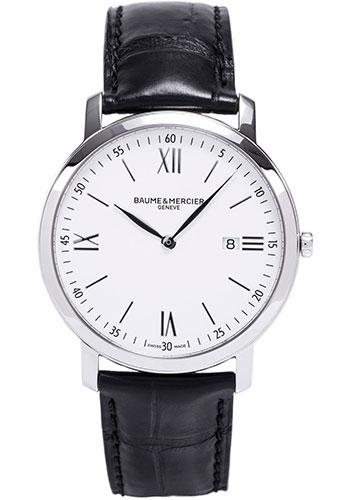 Baume & Mercier Watches - Classima Stainless Steel Quartz - Style No: M0A10097
