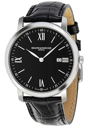 Baume & Mercier Watches - Classima Stainless Steel Quartz - Style No: M0A10098