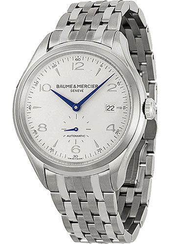 Baume & Mercier Watches - Clifton Stainless Steel - Bracelet - Style No: M0A10099