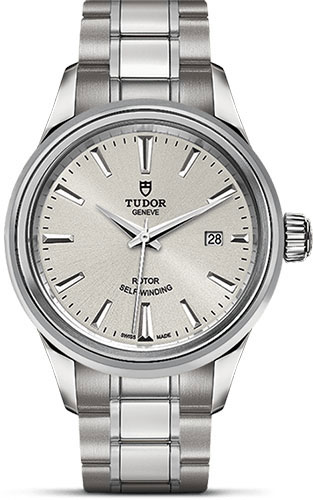 Tudor Watches - Style 28 mm - Steel - Double Bezel - Bracelet - Style No: M12100-0001