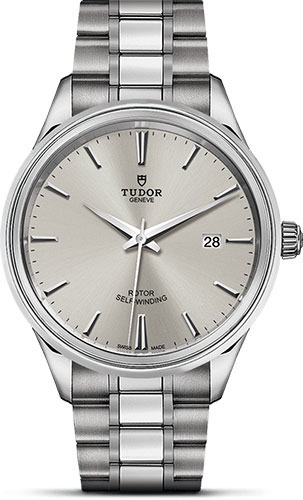 Tudor Watches - Style 41 mm - Steel - Double Bezel - Bracelet - Style No: M12700-0001