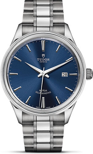 Tudor Watches - Style 41 mm - Steel - Double Bezel - Bracelet - Style No: M12700-0009
