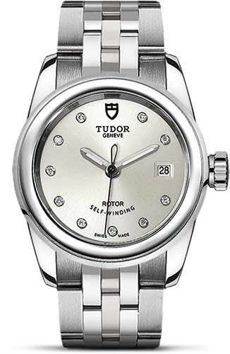 Tudor Watches - Glamour Date 26 mm - Steel - Bracelet - Style No: M51000-0002