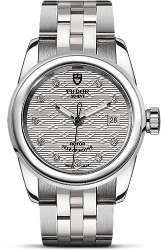Tudor Watches - Glamour Date 26 mm - Steel - Bracelet - Style No: M51000-0004