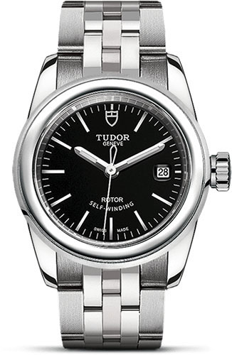 Tudor Watches - Glamour Date 26 mm - Steel - Bracelet - Style No: M51000-0009