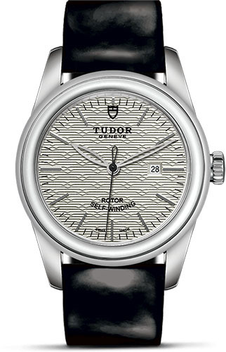 Tudor Watches - Glamour Date 31 mm - Steel - Leather Strap - Style No: M53000-0015