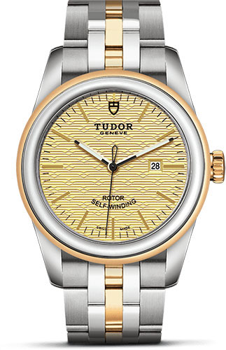 Tudor Watches - Glamour Date 31 mm - Steel and Gold - Bracelet - Style No: M53003-0003