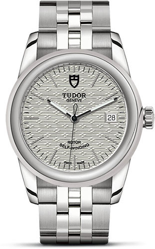 Tudor Watches - Glamour Date 36 mm - Steel - Bracelet - Style No: M55000-0003