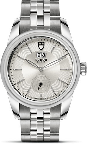 Tudor Watches - Glamour Double Date 42 mm - Steel - Bracelet - Style No: M57000-0004