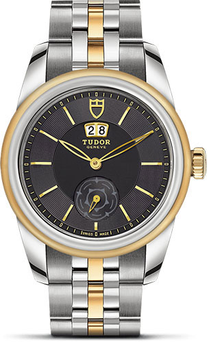 Tudor Watches - Glamour Double Date 42 mm - Steel and Gold - Bracelet - Style No: M57003-0001