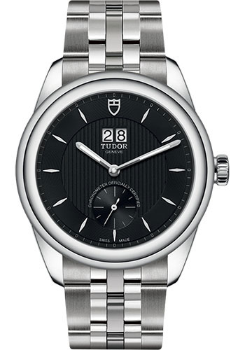Tudor Watches - Glamour Double Date 42 mm - Steel - Bracelet - Style No: M57100-0003