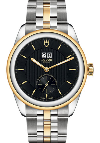 Tudor Watches - Glamour Double Date 42 mm - Steel and Gold - Bracelet - Style No: M57103-0002