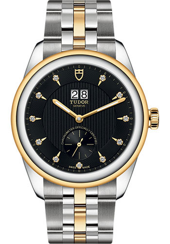 Tudor Watches - Glamour Double Date 42 mm - Steel and Gold - Bracelet - Style No: M57103-0004