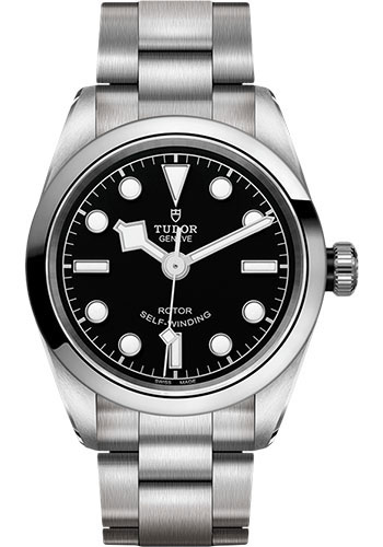 Tudor Watches - Black Bay 32 mm - Steel - Bracelet - Style No: M79580-0001
