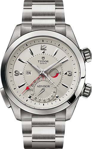 Tudor Watches - Heritage Advisor 42 mm - Steel - Bracelet - Style No: M79620T-0010
