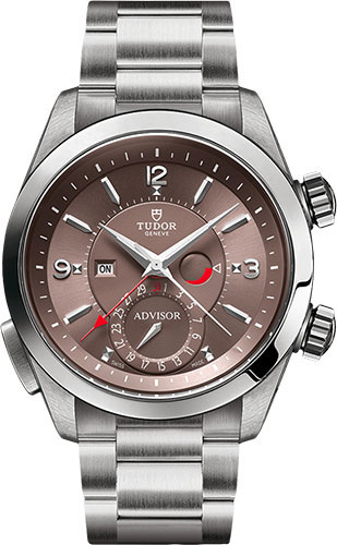 Tudor Watches - Heritage Advisor 42 mm - Steel - Bracelet - Style No: M79620TC-0005