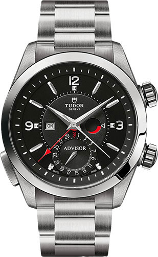 Tudor Watches - Heritage Advisor 42 mm - Steel - Bracelet - Style No: M79620TN-0005