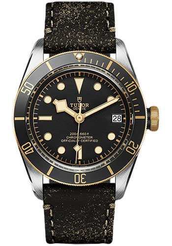 Tudor Watches - Heritage Black Bay Steel and Gold - Style No: M79733N-0001