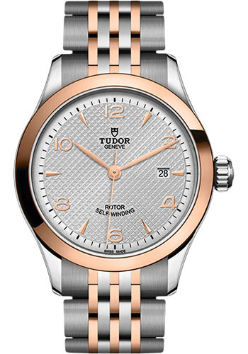 Tudor Watches - 1926 28 mm - Steel and Pink Gold - Style No: M91351-0001