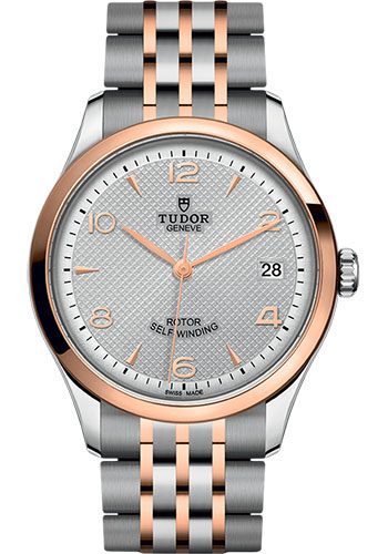Tudor Watches - 1926 36 mm - Steel and Pink Gold - Style No: M91451-0001