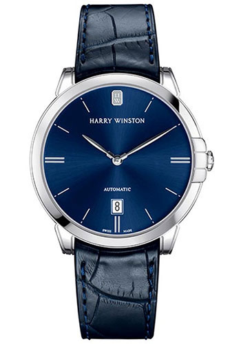 Harry Winston Watches - Midnight 39 mm Automatic - Style No: MIDAHD39WW002