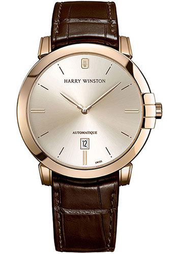 Harry Winston Watches - Midnight 42 mm Automatic - Style No: MIDAHD42RR001