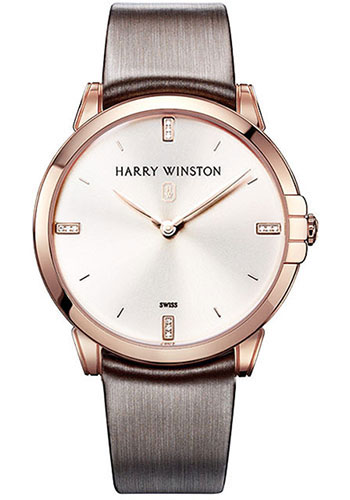 Harry Winston Watches - Midnight 39 mm - Style No: MIDQHM39RR001