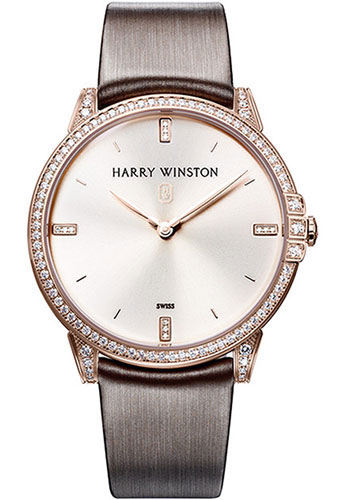 Harry Winston Watches - Midnight 39 mm - Style No: MIDQHM39RR002
