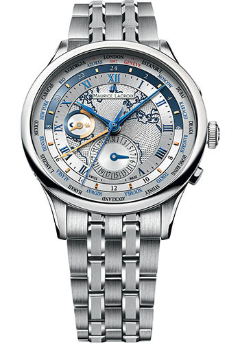Maurice Lacroix Watches - Masterpiece Worldtimer - Style No: MP6008-SS002-111