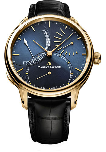Maurice Lacroix Watches - Masterpiece Calendrier Retrograde - Style No: MP6509-PG101-430