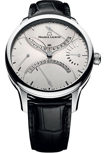 Maurice Lacroix Watches - Masterpiece Double Retrograde - Style No: MP6518-SS001-130