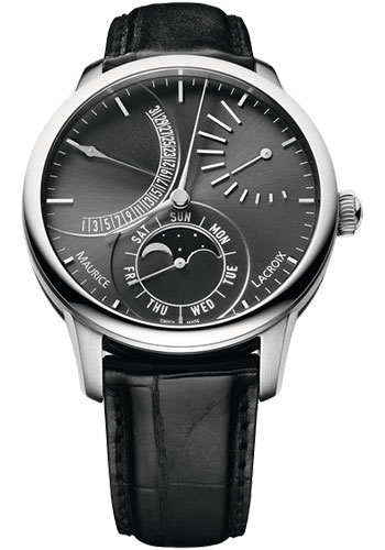 Maurice Lacroix Watches - Masterpiece Lune Retrograde - Style No: MP6528-SS001-330