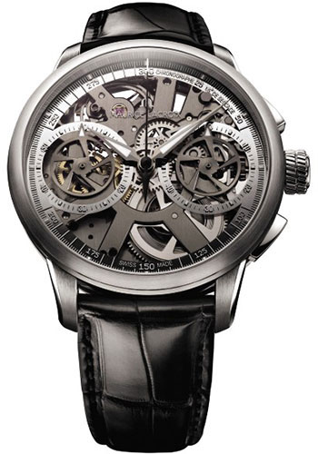 Maurice Lacroix Watches - Masterpiece Le Chronographe - Style No: MP7128-SS001-000