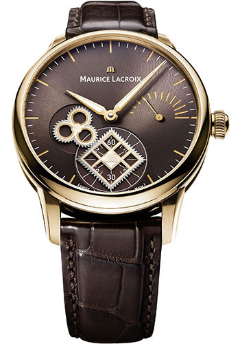 Maurice Lacroix Watches - Masterpiece Roue Carree Seconde - Style No: MP7158-PG101-700