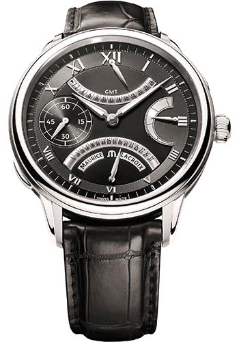 Maurice Lacroix Watches - Masterpiece Double Retrograde - Style No: MP7218-SS001-310