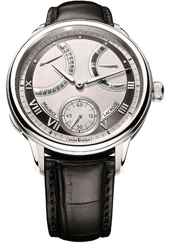 Maurice Lacroix Watches - Masterpiece Calendrier Retrograde - Style No: MP7268-SS001-110