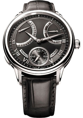 Maurice Lacroix Watches - Masterpiece Calendrier Retrograde - Style No: MP7268-SS001-310