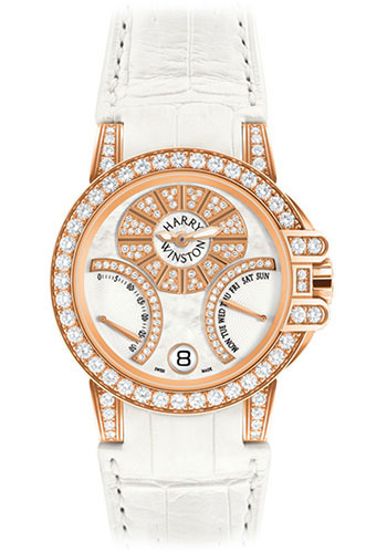 Harry Winston Watches - Ocean Collection Biretrograde - Style No: OCEABI36RR003