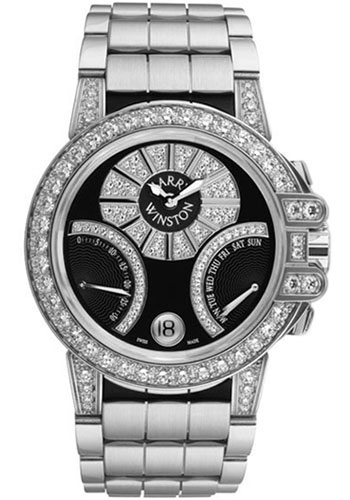 Harry Winston Watches - Ocean Collection Biretrograde - Style No: OCEABI36WW022