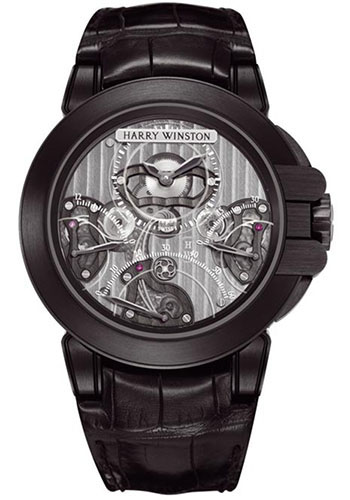 Harry Winston Watches - Ocean Collection Triple Retrograde Chronograph - Style No: OCEACT44ZZ002
