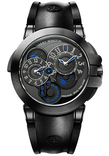 Harry Winston Watches - Ocean Collection Dual Time - Style No: OCEATZ44ZZ007