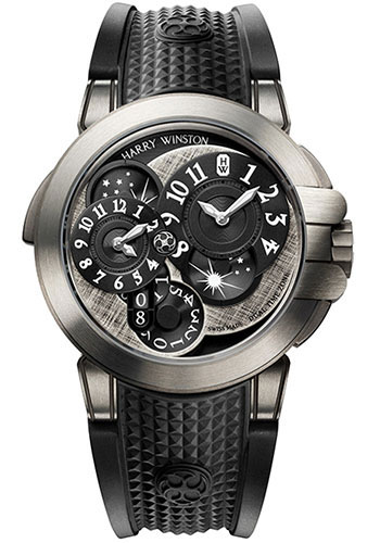 Harry Winston Watches - Ocean Collection Dual Time - Style No: OCEATZ44ZZ008