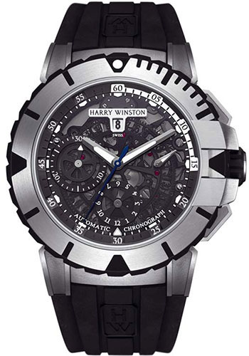 Harry Winston Watches - Ocean Sport Chronograph - Style No: OCSACH44ZZ001