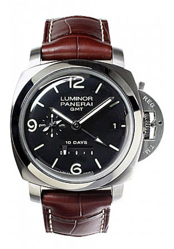 rubber man watches winding ref watch wrist luminor panerai officine automatic black