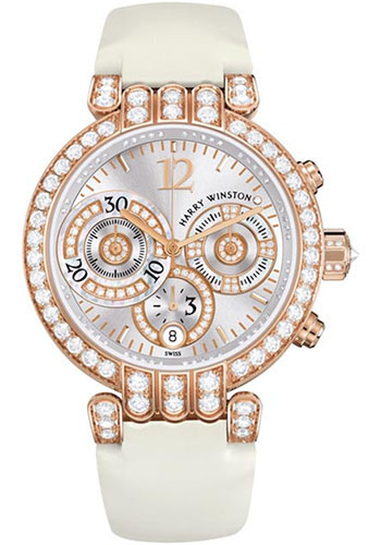 Harry Winston Watches - Premier Collection Large Chronograph - Style No: PREACH39RR002